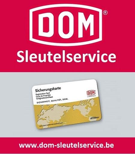 Nalevering sleutels DOM