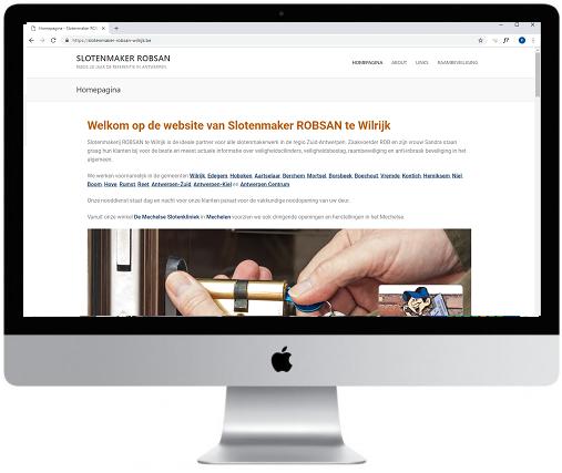 Website Robsan WILRIJK
